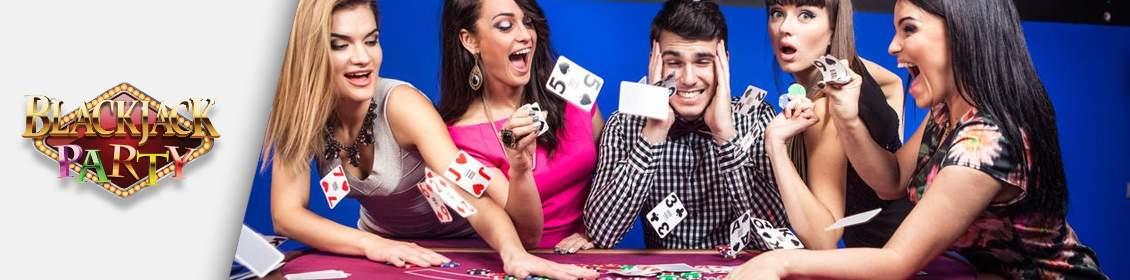 Croupiers à la blackjack party